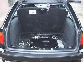 BMW 540 met Landi LPG installatie